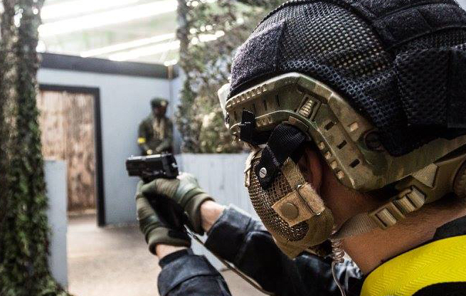 Airsoft skirms Arnhem